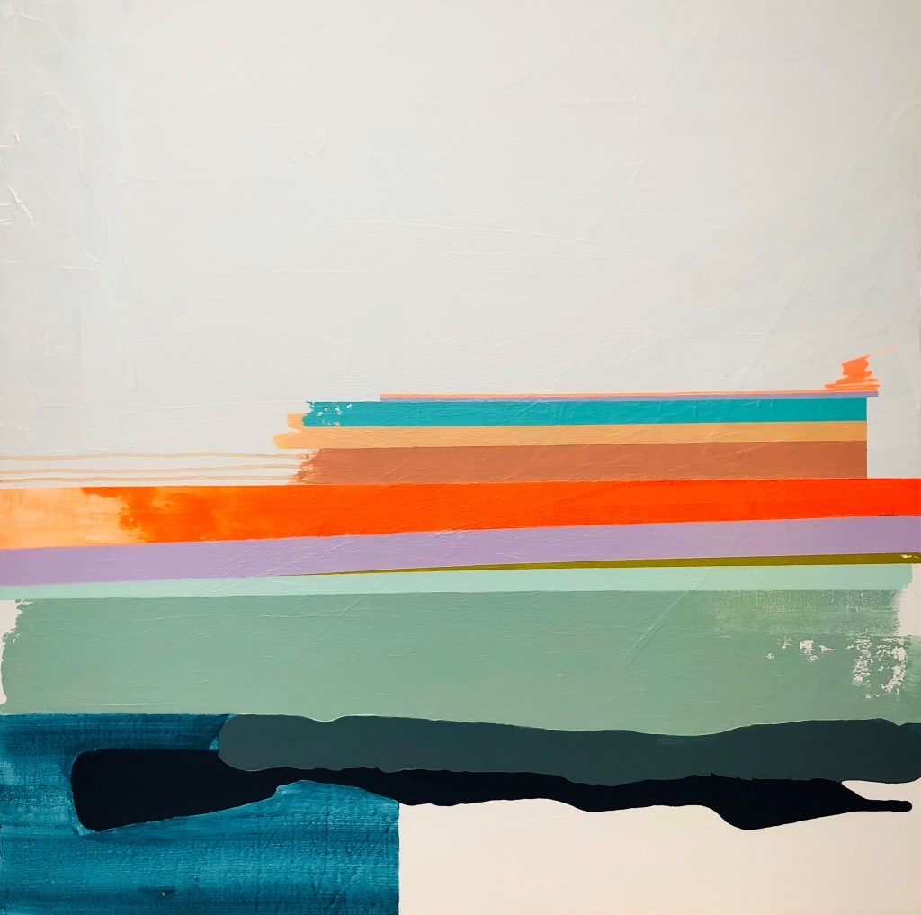 No.047 / Fun Pile / £850 - Available to purchase through www.georgethorntonart.com